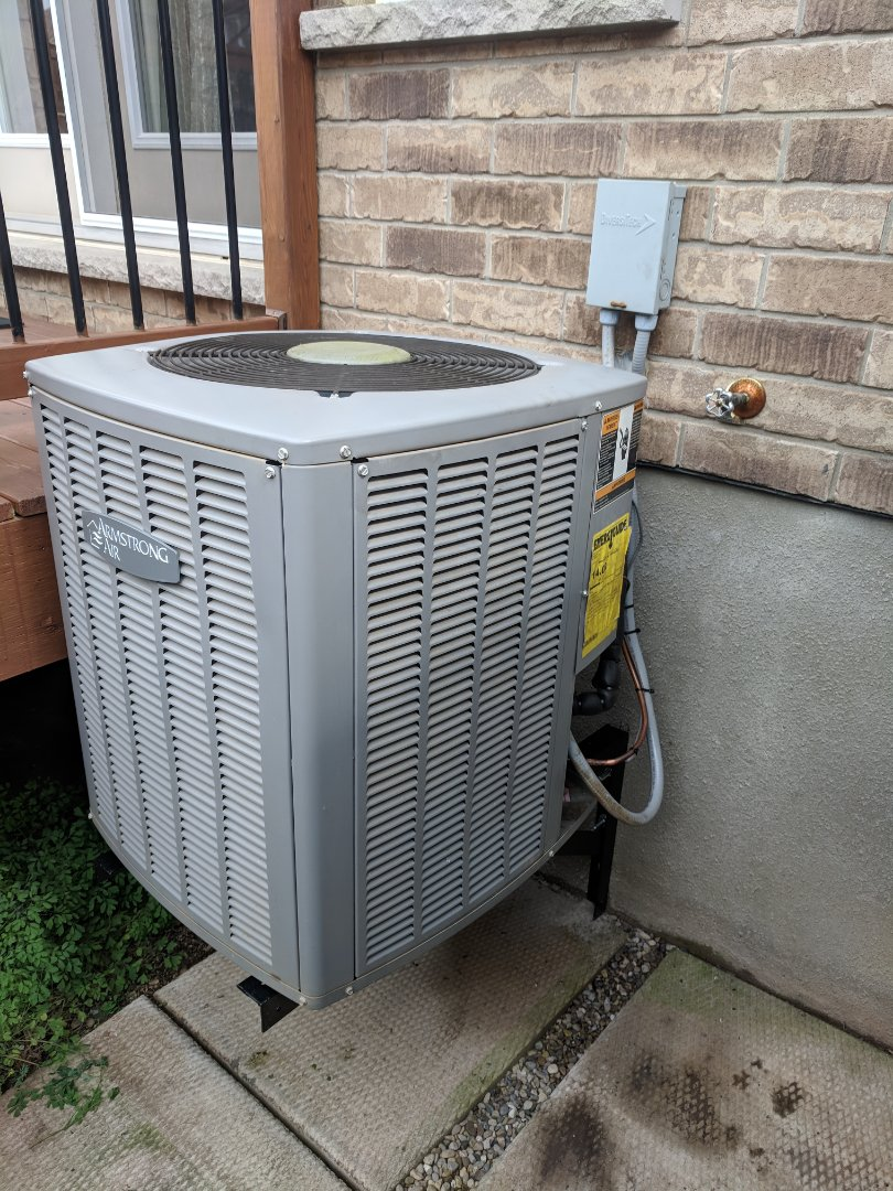 Guelph, ON - Relocate air conditioner