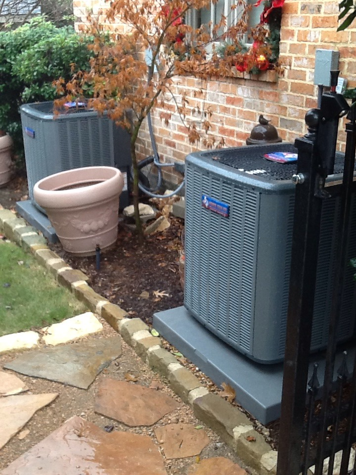Sunnyvale, TX - Heating tune-up on 5-ton Goodman furnace system.Inspected evaporator coil,checked blower motor&wheel,checked electrical connections,secondary motor,control board,UV light,furnace,gas valve&connection,ducts,replaced air filter,checked operation of thermostat,safety switches,vent system and cleared drain lines.Start up system and check operation in heat mode.