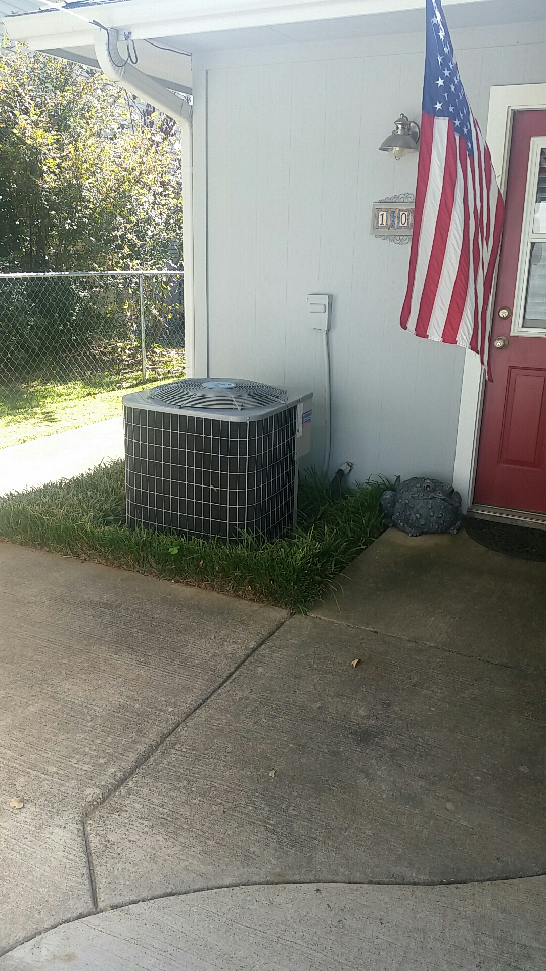 Trinidad, TX - One system heating maintenence check. This family is ready for winter.