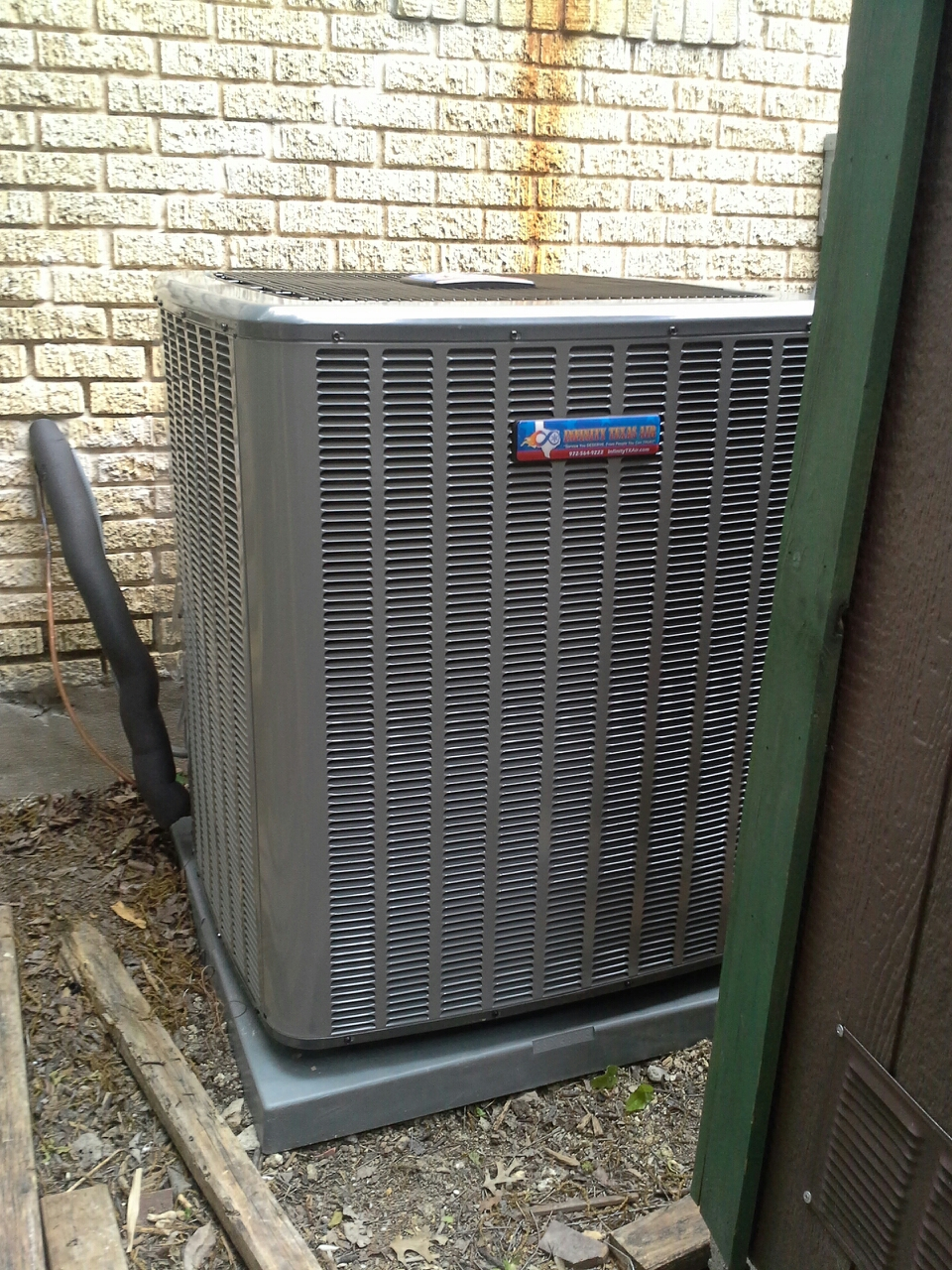 Dallas, TX - Ac install remove 4 ton goodman system install 4 ton 20 seer amana home comfort system