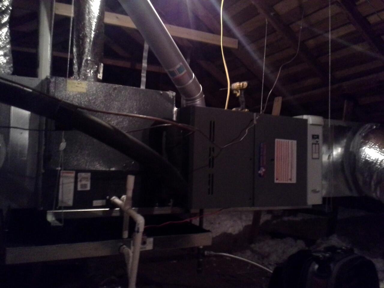 Dallas, TX - Ac maintenance on 4 ton amana 20 seer system