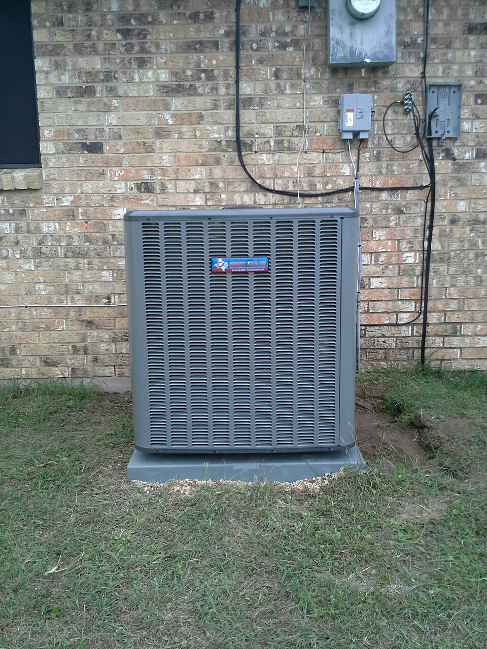 Red Oak, TX - Ac install remove 4 ton carrier unit install 4 ton 18 seer heat pump