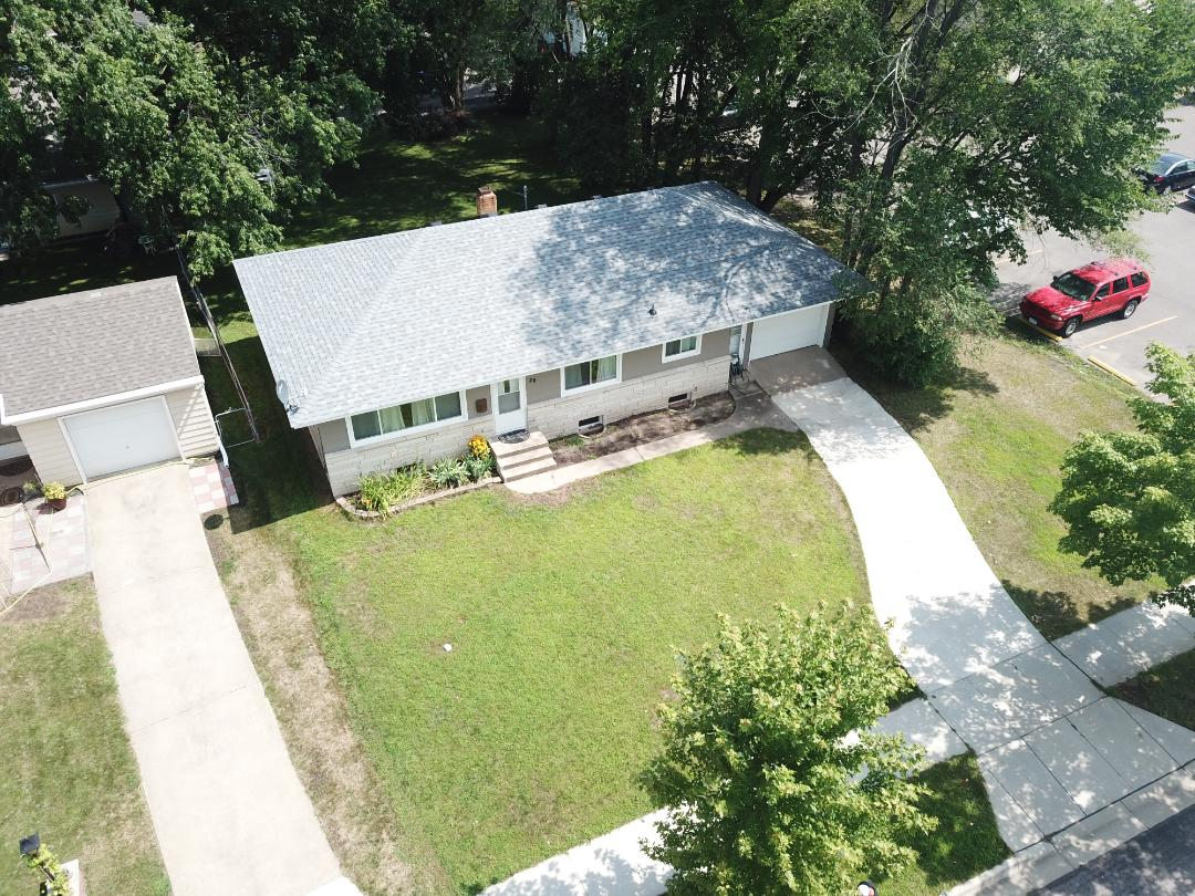 St. Cloud, MN - Owen's Corning Duration asphalt shingle reroof house and detached garage.