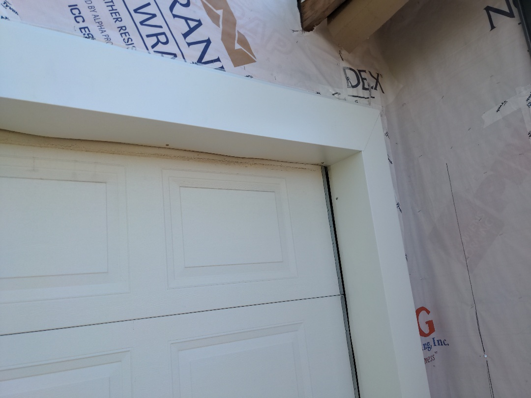Sauk Rapids, MN - Look at these big chunky garage door wraps the Oberg team is installing today.. they look great!