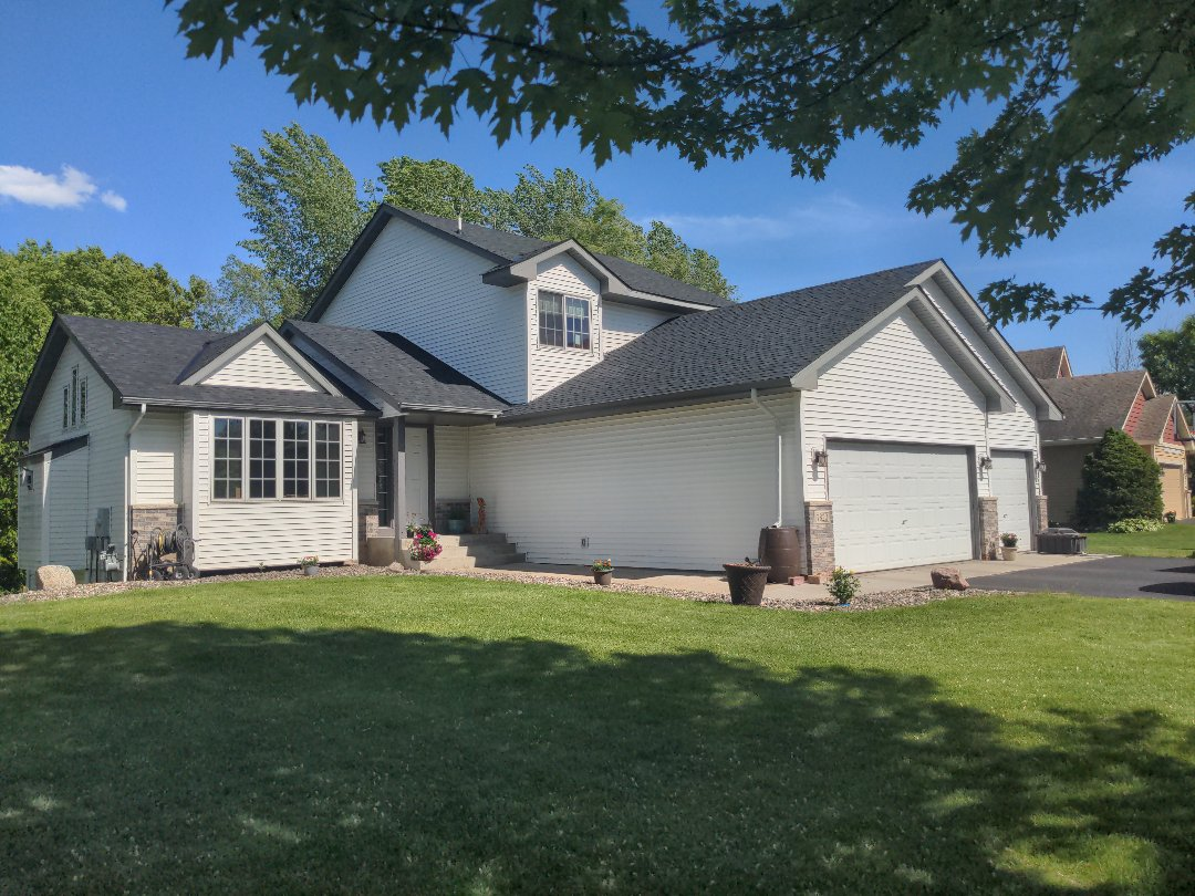 Otsego, MN - The roofers did another great job! Now on to the siding!