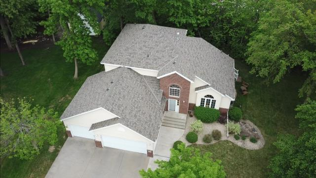 Saint Joseph, MN - Brand new roof installed by Caleb Oberg the owner himself. Owens Corning Duration Driftwood. This roof now has a 50 yr. manufacturing warranty and 10 workmanship warranty which equals an O+ rated roof by Oberg Roofing & Remodeling Inc.