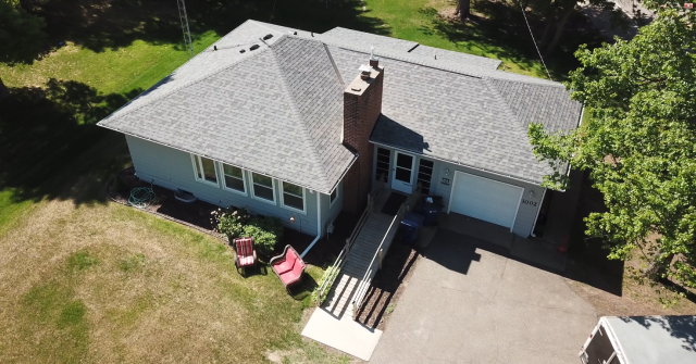 St. Cloud, MN - New roof on this rental unit with Owens Corning Duration (Estate Grey)