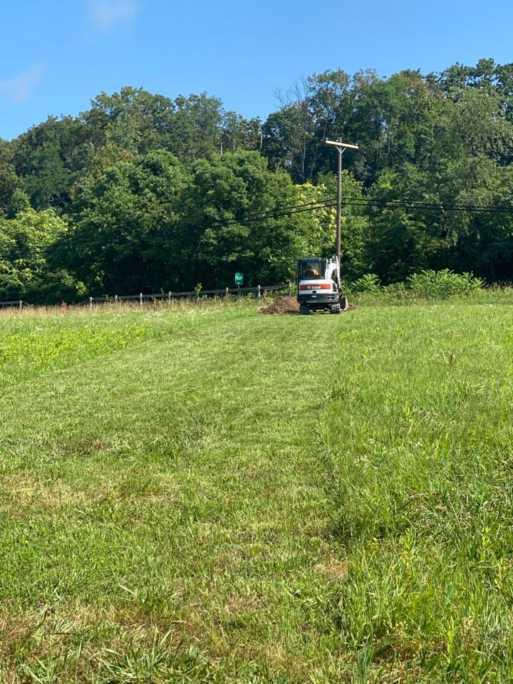 Boyds, MD - Trenching for Electric Service