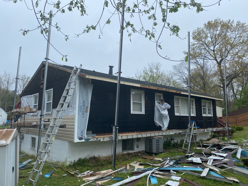 Clinton, MD - Siding replacement job