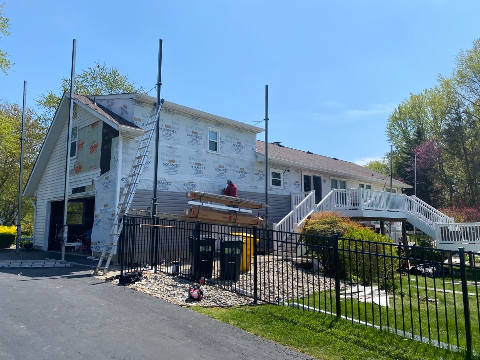West River, MD - Siding installation