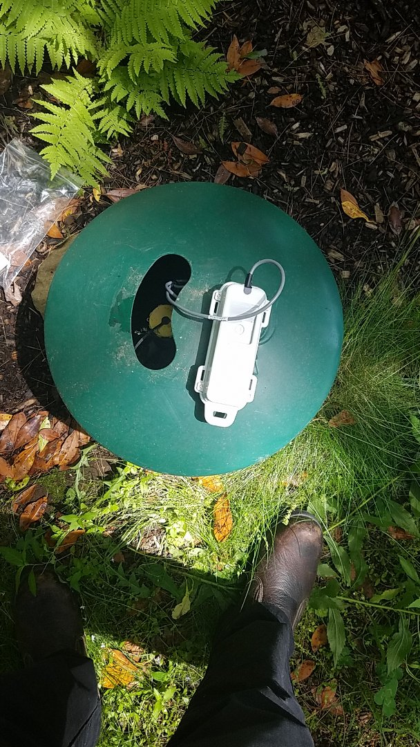 Essex, CT - Installing propane tank monitor in Essex