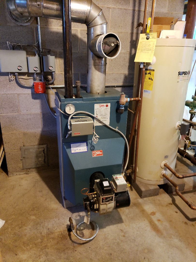 Westbrook, CT - Utica boiler tune up w/ Beckett burner