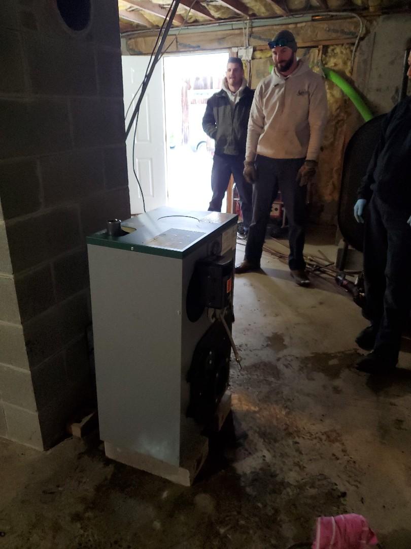 Killingworth, CT - New peerless boiler installation