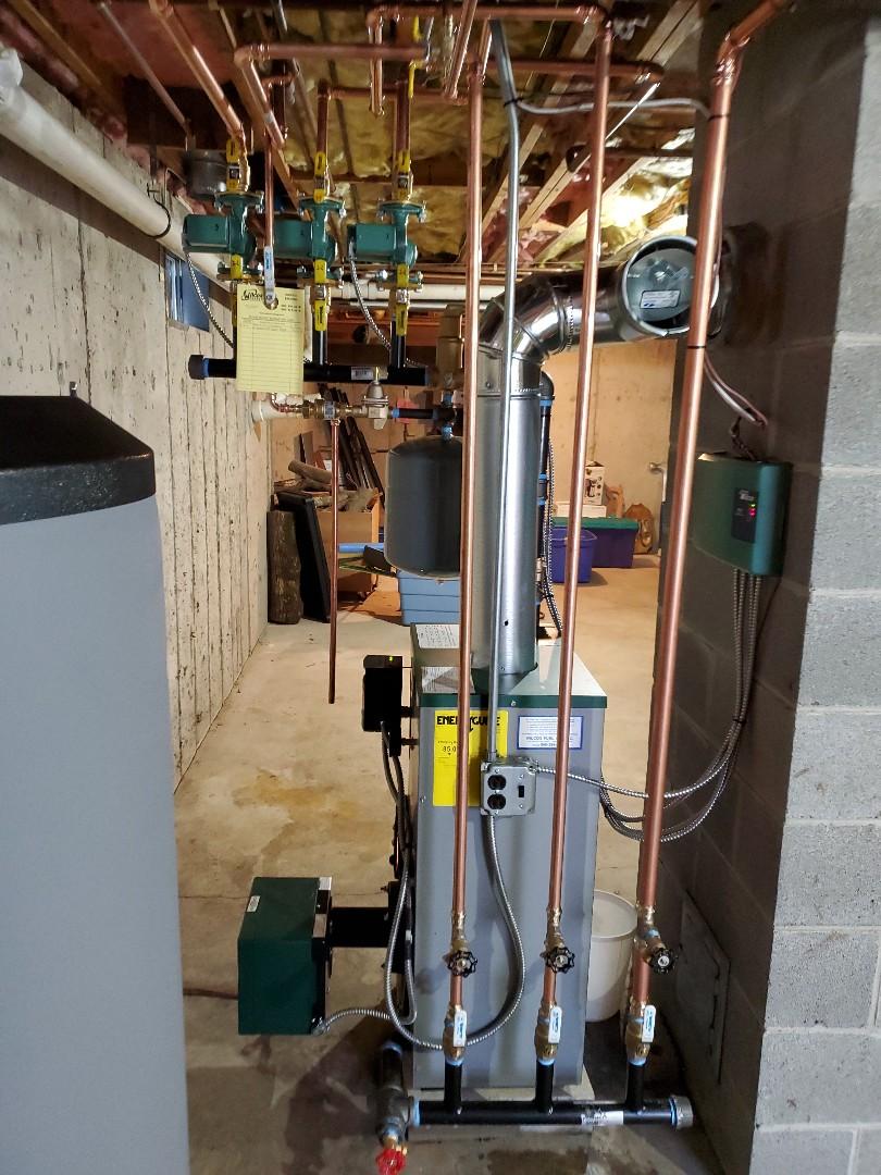 Killingworth, CT - Peerless boiler install