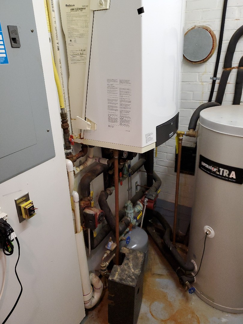 Essex, CT - Install of  new wall gas boiler