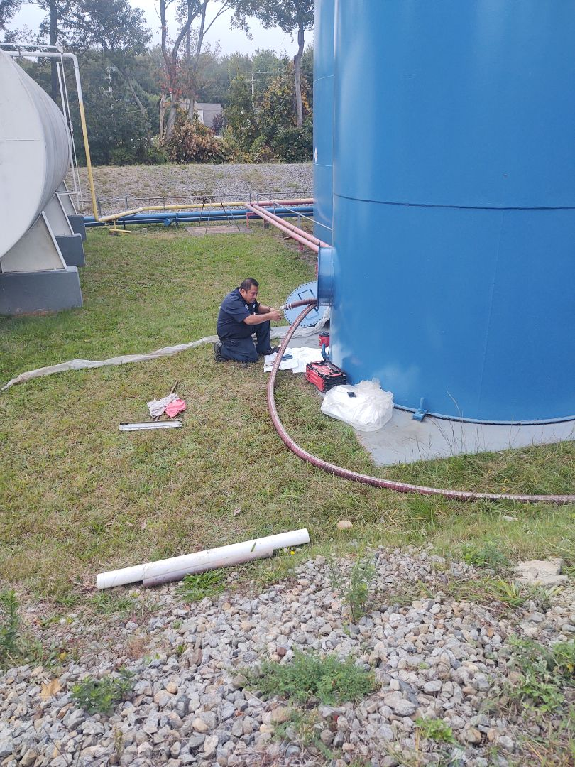 Westbrook, CT - Removing all carbon and fossil fuels for Biofuel Bioheat Renewable energy tank
