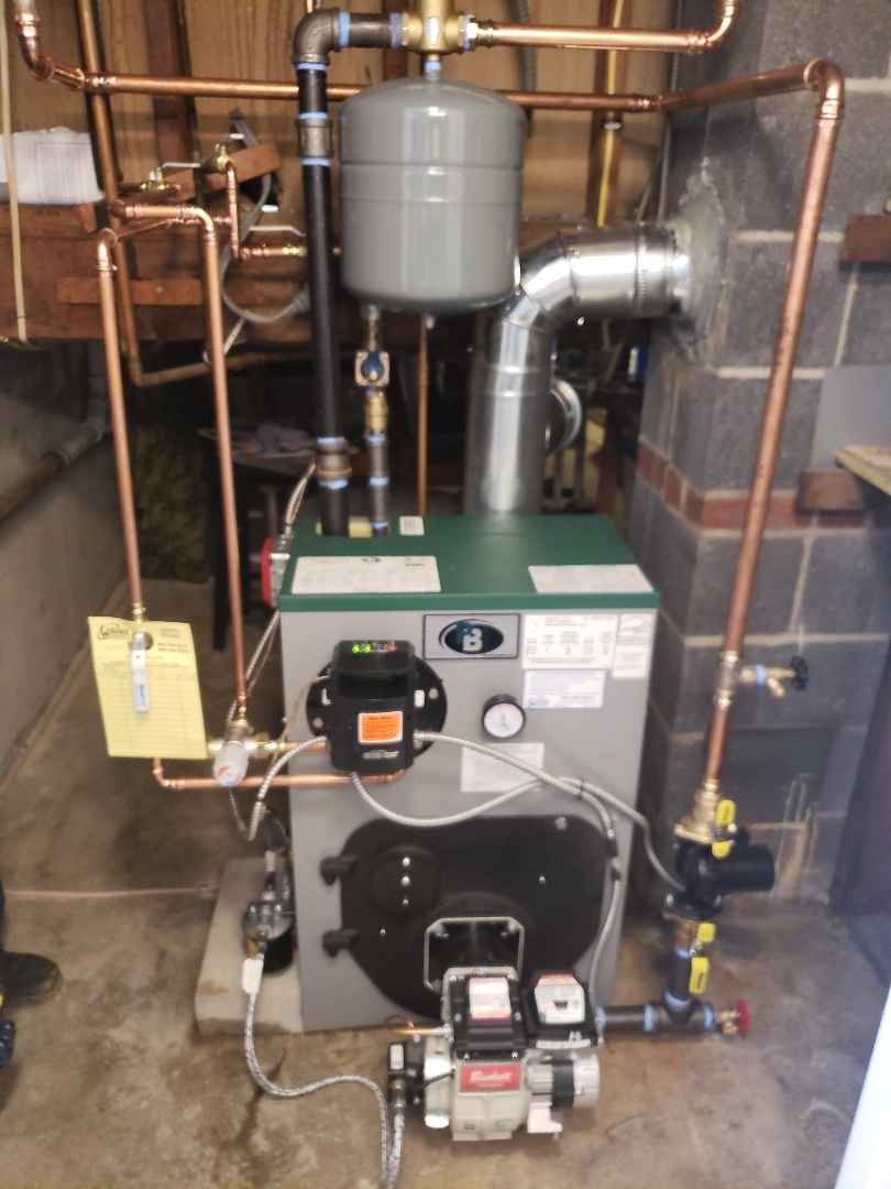 Clinton, CT - New Peerless Boiler Install