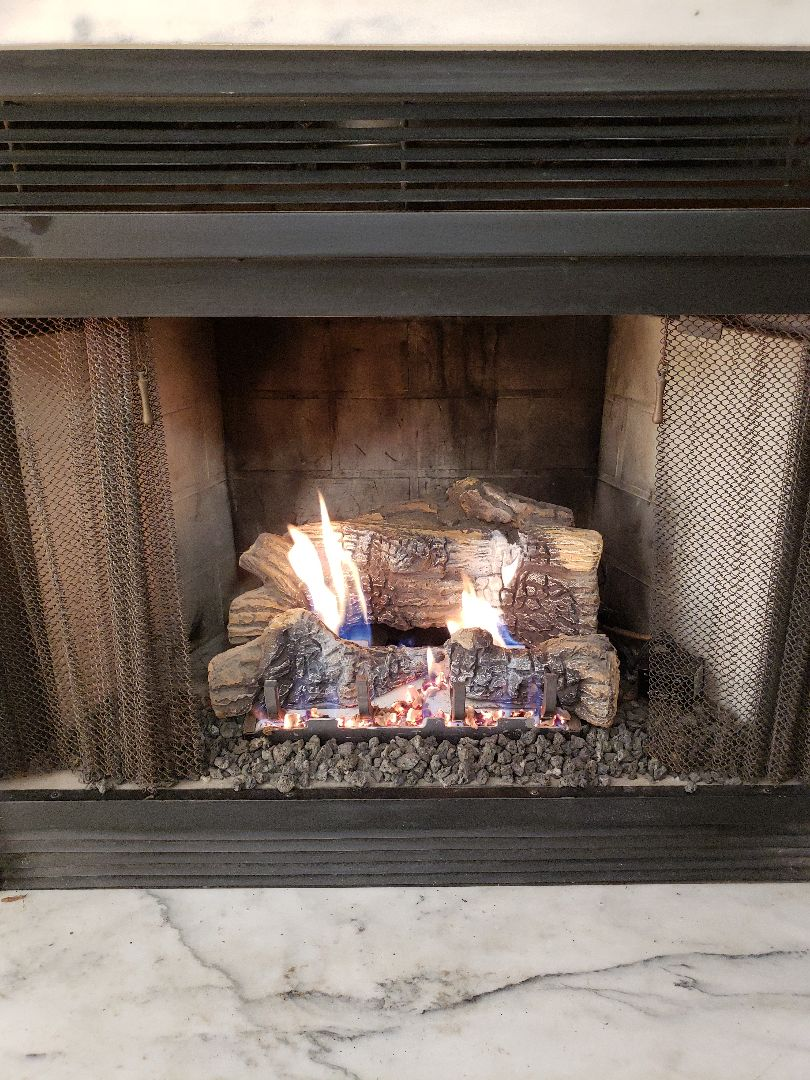 East Lyme, CT - Pilot assembly replaced on fireplace
