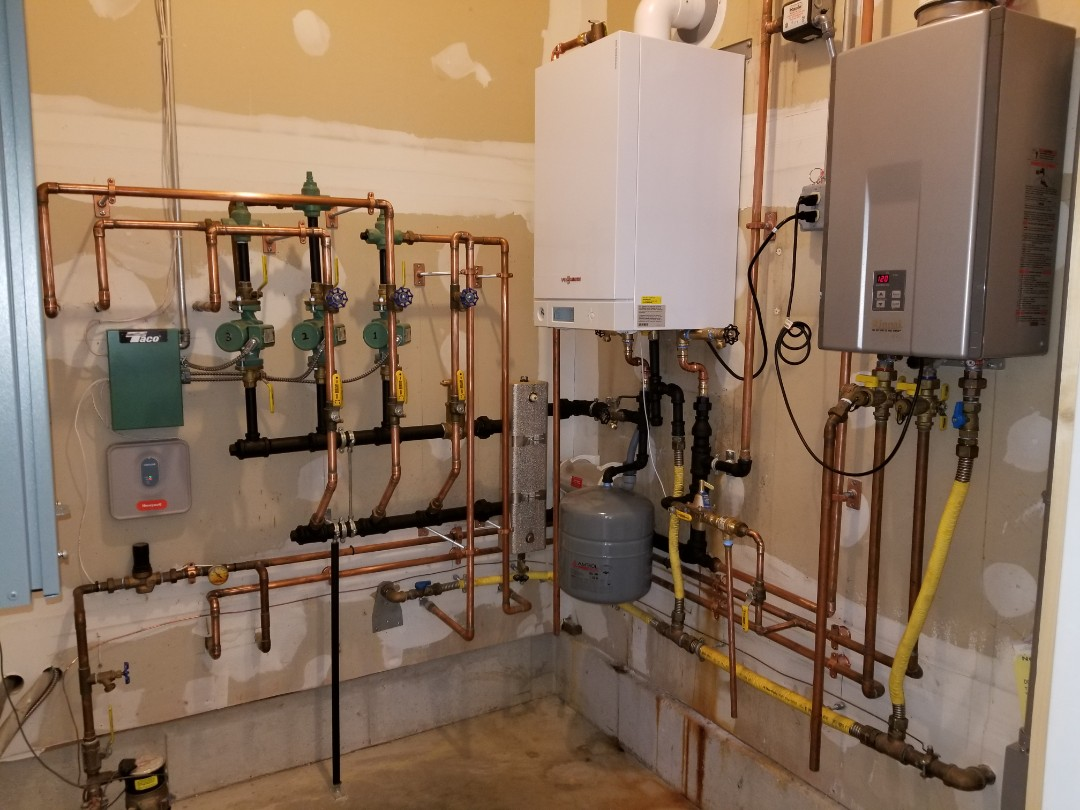 Westbrook, CT - Installation of Veismann boiler