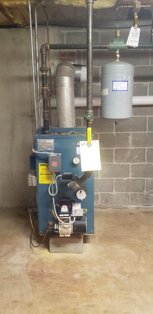 Killingworth, CT - Burnham boiler, reset