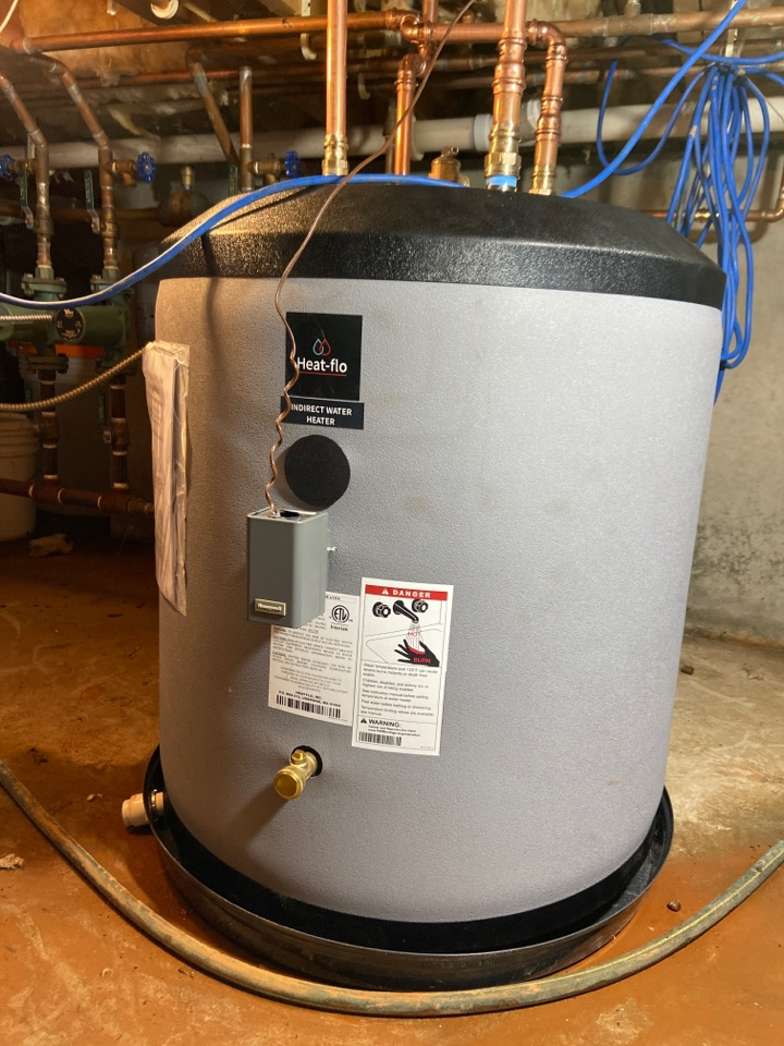 Madison, CT - Install new heat flo 40 gallon stubby water heater in a crawl space