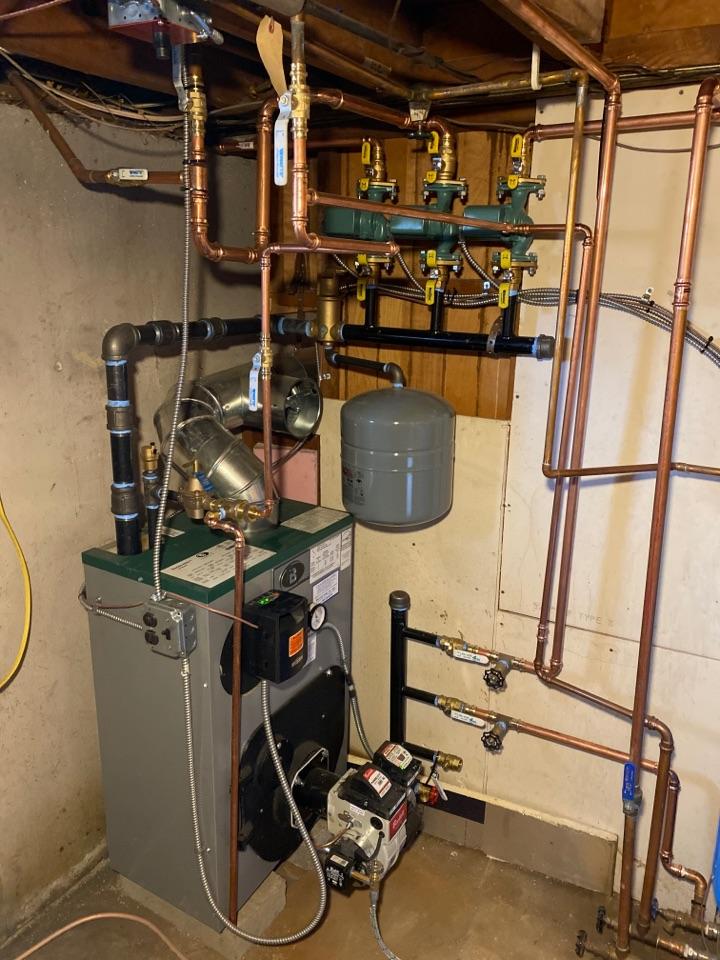 Old Lyme, CT - New Peerless Boiler