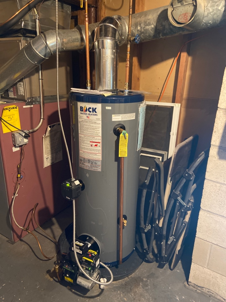 Westbrook, CT - Installation of new Bock 32e oil fired water heater