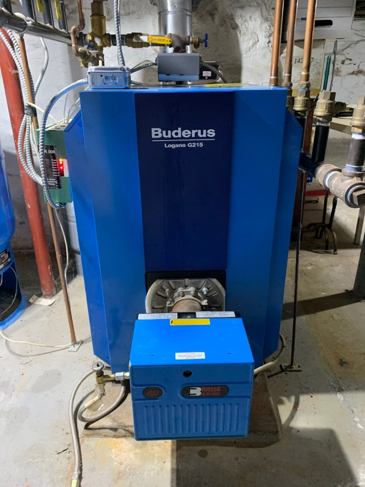Essex, CT - Buderus Oil-fired boiler tune-up