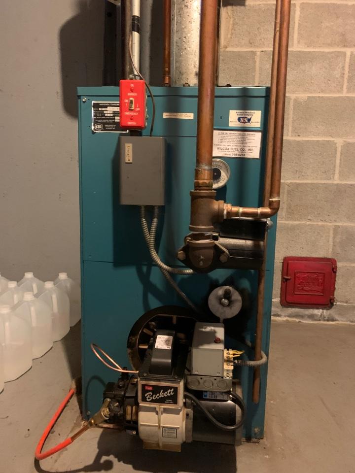 Westbrook, CT - Burnham boiler tune-up