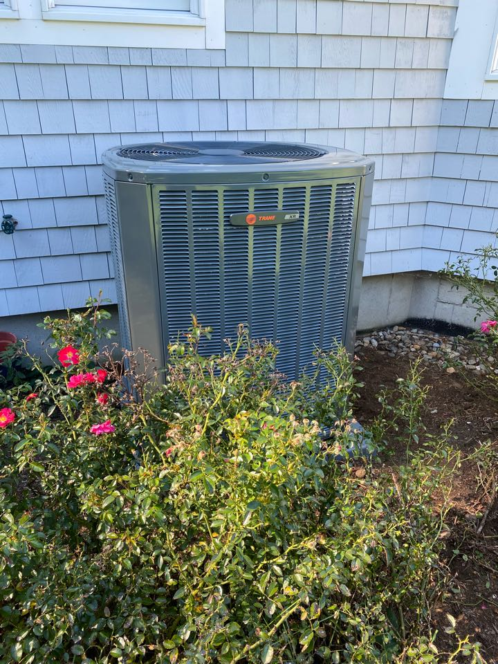 Old Saybrook, CT - Installed TRANE 16 Seer AC Coil