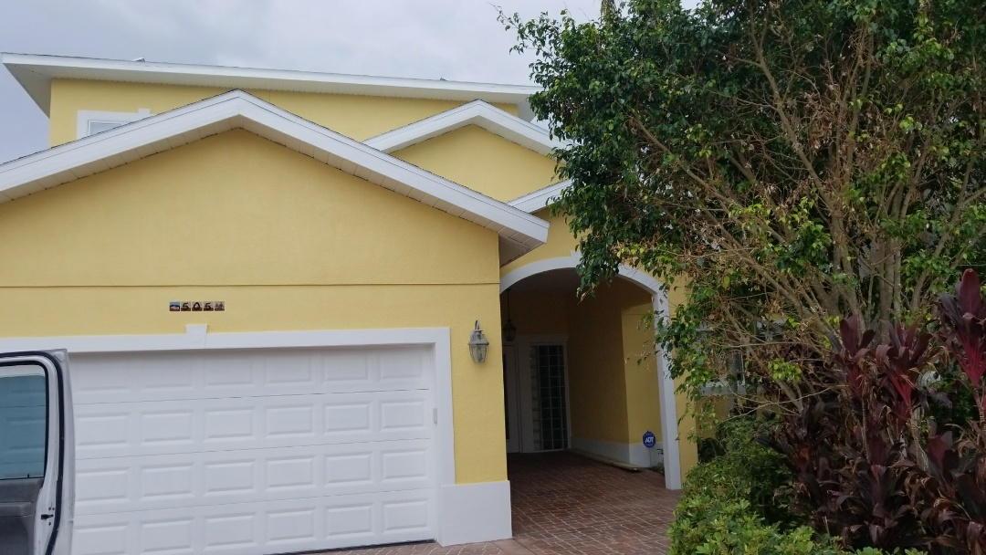 Alber did a fantastic job painting this lovely beach home