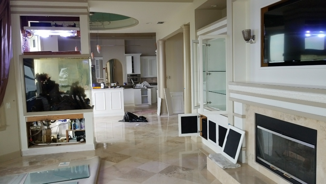 Tampa, FL - Finishing touches on the this cabinet transformation