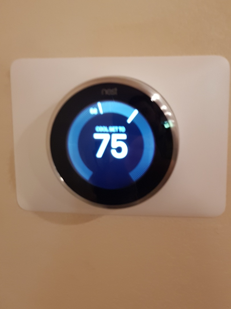Burbank, CA - put Nest thermostat and did AC tuneup