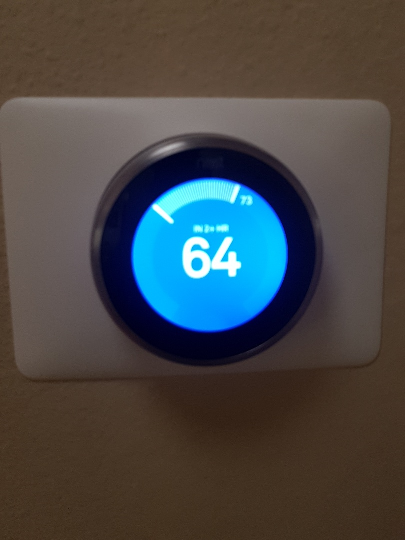 Los Angeles, CA - put nest thermostat and did full AC tuneup