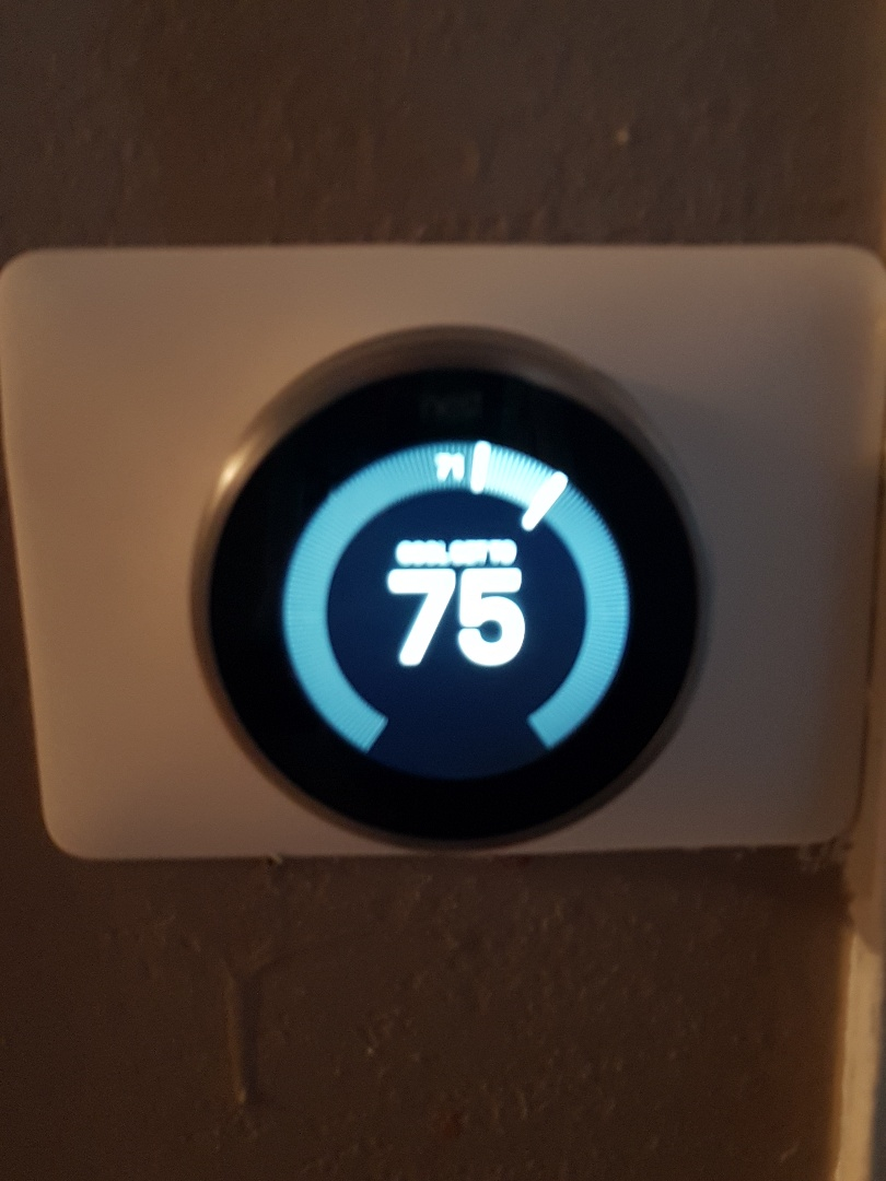 Los Angeles, CA - put new Nest thermostat and did full AC tuneup