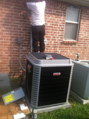 Fort Worth, TX - New air conditioning install