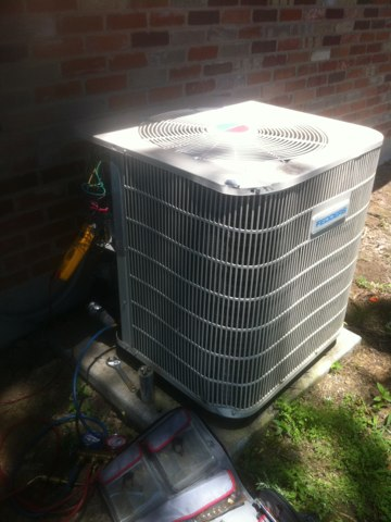 Kaufman, TX - Air conditioning A/C service repair