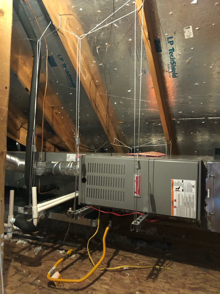 Arlington, TX - Heating tuneup and gas heat safety inspection.