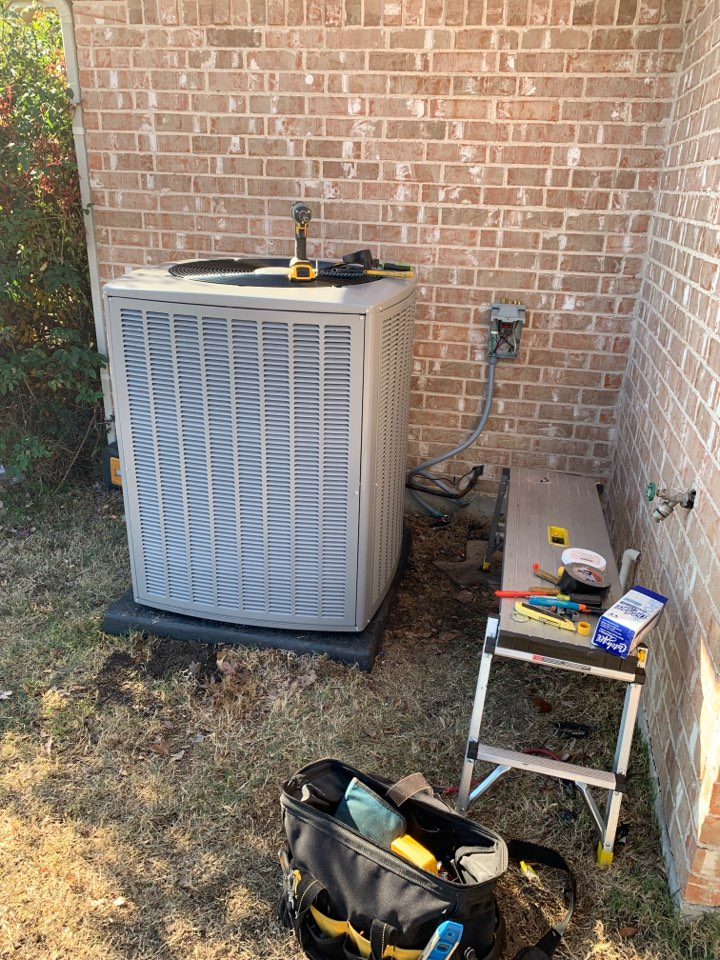 Midlothian, TX - Heater service call repair, install new Heat Pump system