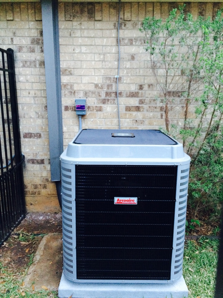 Mansfield, TX - Install air conditioning and heating