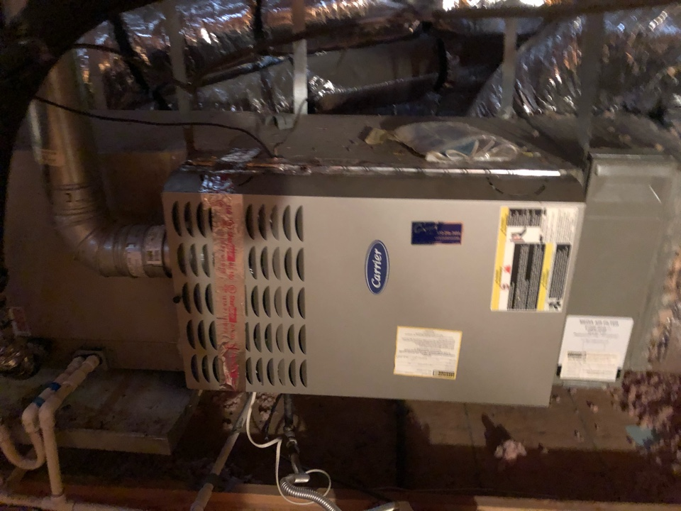DeSoto, TX - Heating tuneup and gas furnace safety inspection.