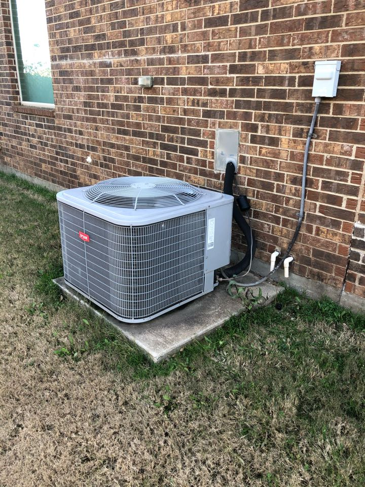 DeSoto, TX - Heating tuneup and unit safety inspection.