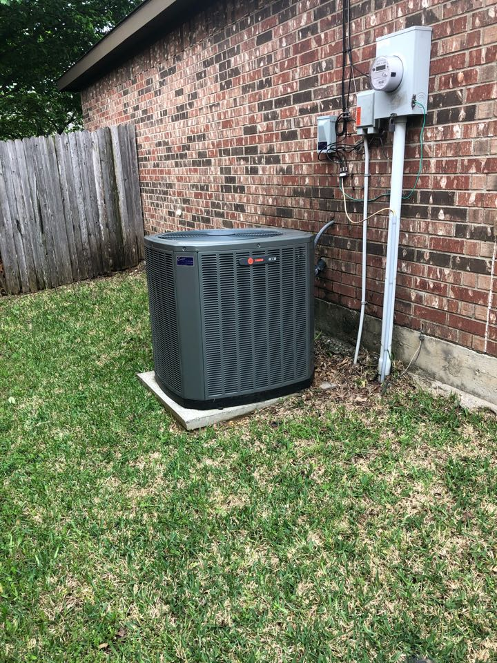 Midlothian, TX - Air conditioning diagnostic and repair service.