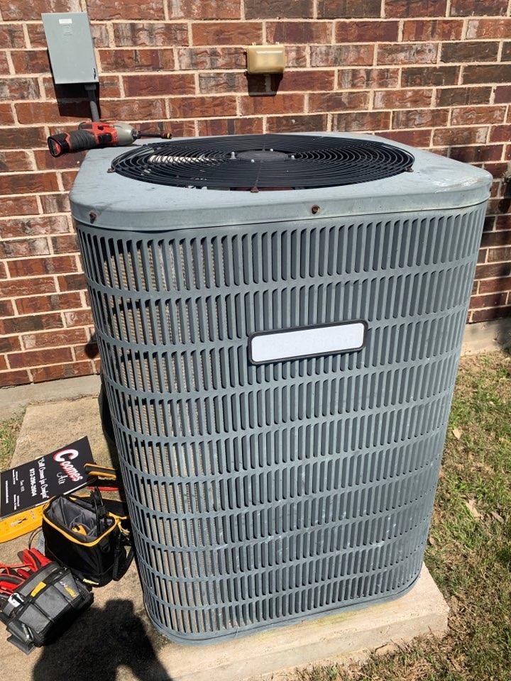 Dallas, TX - Ac service call on Goodman air conditioner