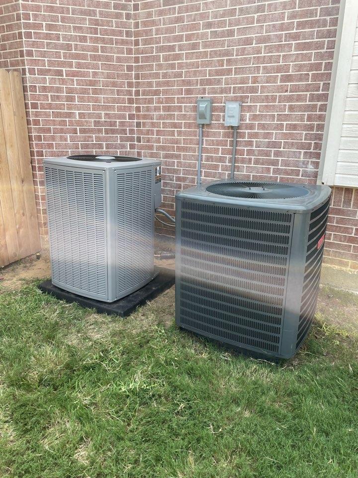 Arlington, TX - AC service call repair, install new air conditioner