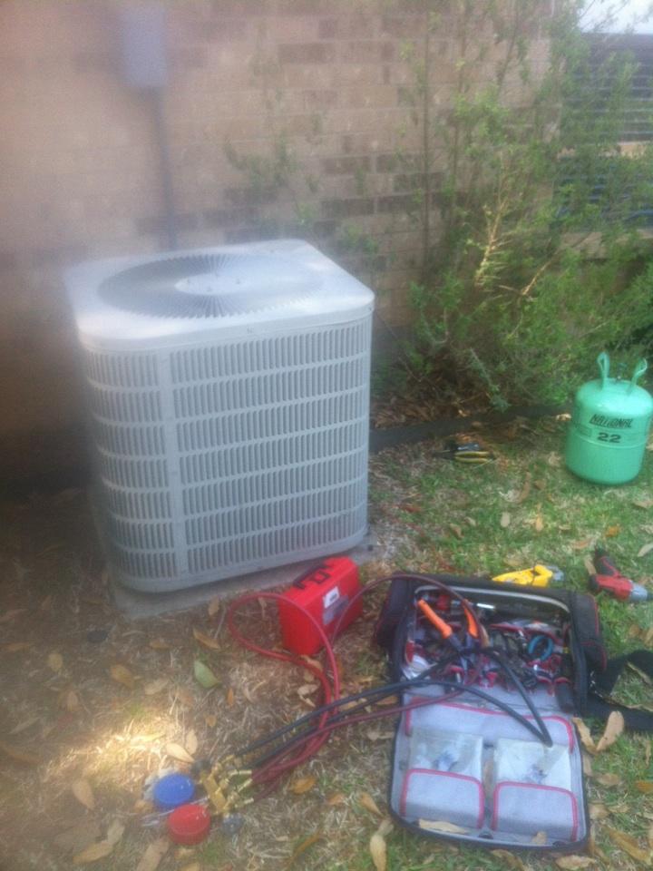 Mansfield, TX - AC service repair in Mansfield, TX