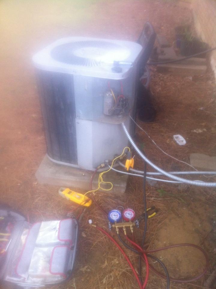 Mansfield, TX - AC service call repair in Mansfield TX