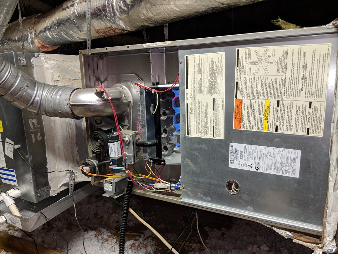 DeSoto, TX - Heat checkup. Performed heating diagnostic, repair, safety inspection, and maintenance on gas furnace.