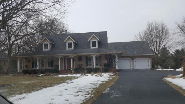 Millbrook, IL - Complete tear off and replacement of roof and skylights.