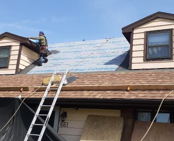 Yorkville, IL - tear off      CertainTeed shingles      roof repairs    laminated shingles   Architectural Shingles roof     gutter  lifetime shingles    50 year shingles